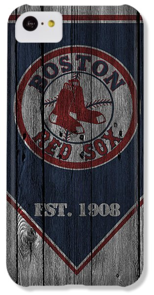 Boston Red Sox IPhone 5c Case by Joe Hamilton
