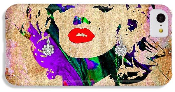 Marilyn Monroe Diamond Earring Collection IPhone 5c Case
