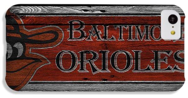 Oriole iPhone 5c Case - Baltimore Orioles by Joe Hamilton