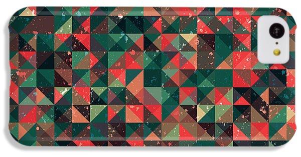 Pixel Art Square IPhone 5c Case
