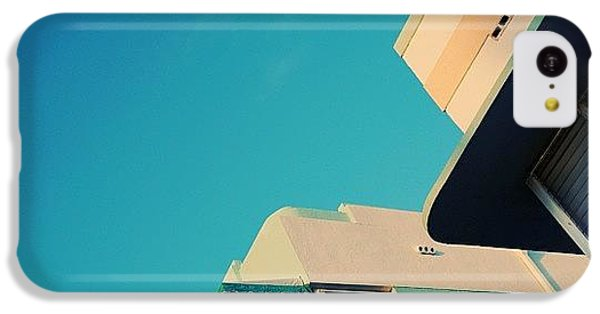 Iger iPhone 5c Case - {miami Beach's Art Deco}  In 1979 by Joel Lopez