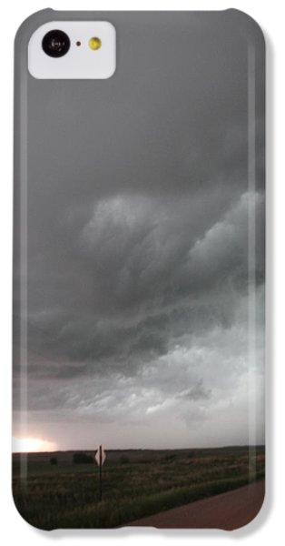 Nebraskasc iPhone 5c Case - Nebraska Panhandle Supercells by NebraskaSC