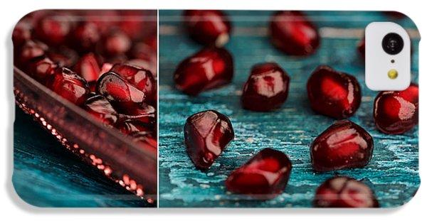 Fruit Bowl iPhone 5c Case - Pomegranate by Nailia Schwarz