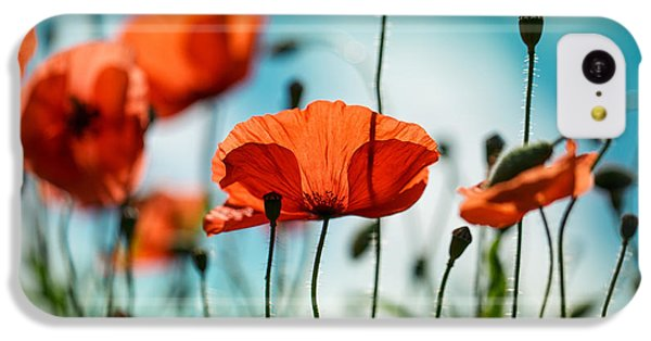 Poppy Meadow IPhone 5c Case