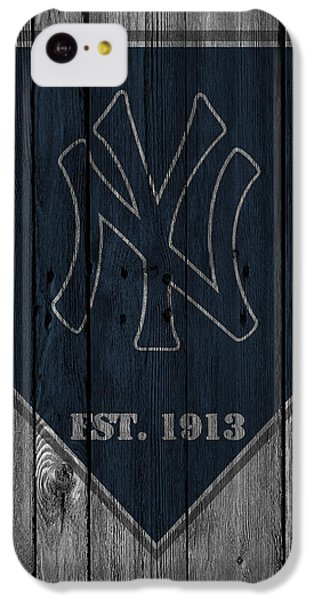 New York Yankees IPhone 5c Case by Joe Hamilton
