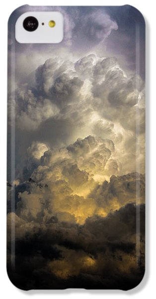 Nebraskasc iPhone 5c Case - Late Afternoon Nebraska Thunderstorms by NebraskaSC