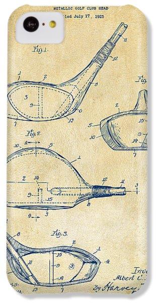 1926 Golf Club Patent Artwork - Vintage IPhone 5c Case by Nikki Marie Smith