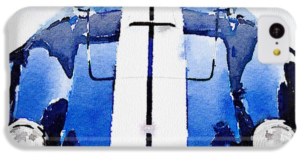 Cobra iPhone 5c Case - 1962 Ac Cobra Shelby Watercolor by Naxart Studio