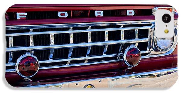 1965 Ford American Lafrance Fire Truck IPhone 5c Case by Jill Reger