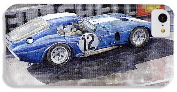 1965 Le Mans  Daytona Cobra Coupe  IPhone 5c Case by Yuriy Shevchuk
