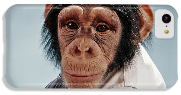 1970s Close-up Face Chimpanzee Looking IPhone 5c Case