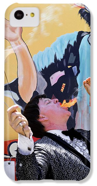 1970s Man In Tuxedo Performing Fire IPhone 5c Case