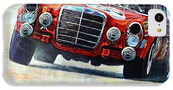 Pig iPhone 5c Case - 1971 Mercedes-benz Amg 300sel by Yuriy Shevchuk