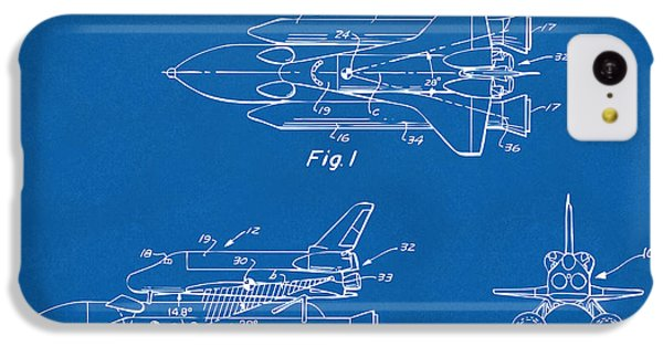 1975 Space Shuttle Patent - Blueprint IPhone 5c Case by Nikki Marie Smith