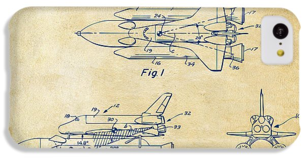 1975 Space Shuttle Patent - Vintage IPhone 5c Case