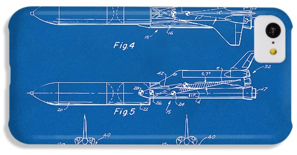 1975 Space Vehicle Patent - Blueprint IPhone 5c Case