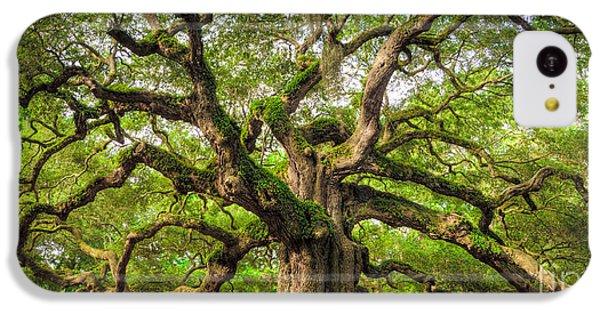 Largemouth Bass iPhone 5c Case - Angel Oak Tree Of Life by Dustin K Ryan