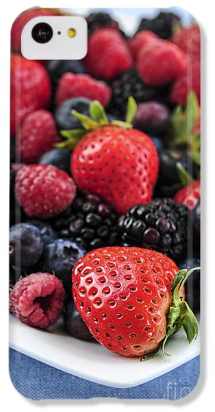 Assorted Fresh Berries IPhone 5c Case by Elena Elisseeva