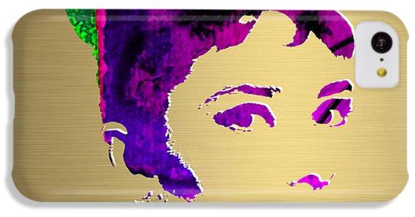 Audrey Hepburn Gold Series IPhone 5c Case