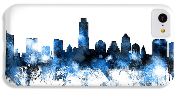 Austin Texas Skyline IPhone 5c Case