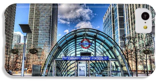 Canary Wharf IPhone 5c Case by David Pyatt