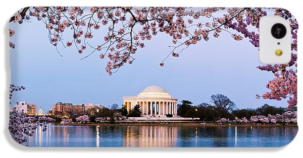 Cherry Blossom Tree With A Memorial IPhone 5c Case by Panoramic Images