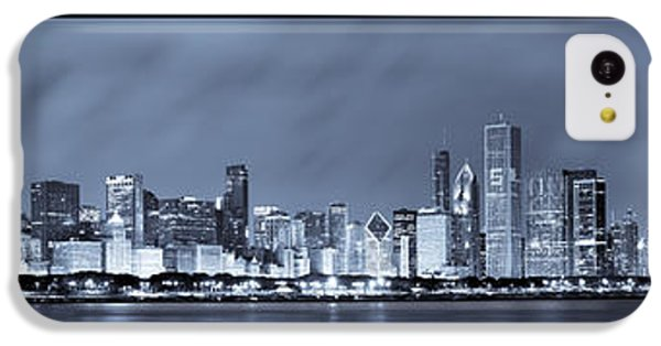 Chicago Skyline At Night IPhone 5c Case