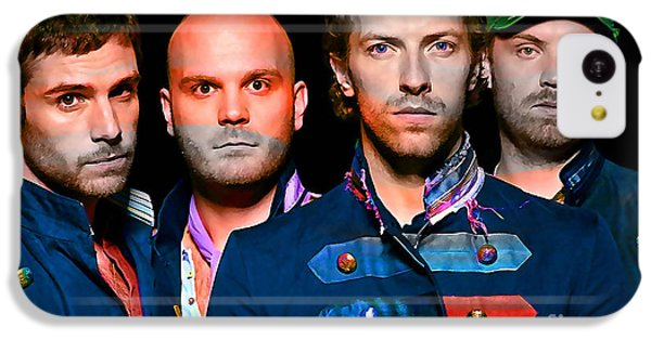 Coldplay iPhone 5c Case - Coldplay by Marvin Blaine
