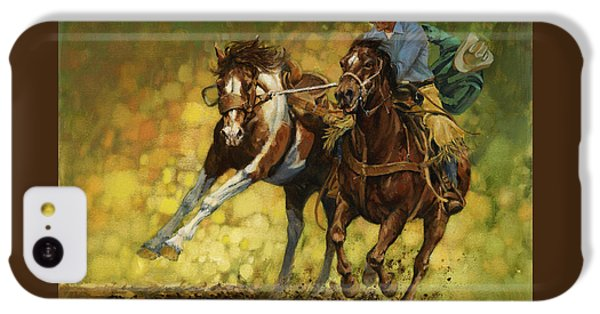 Rodeo Pickup IPhone 5c Case by Don  Langeneckert