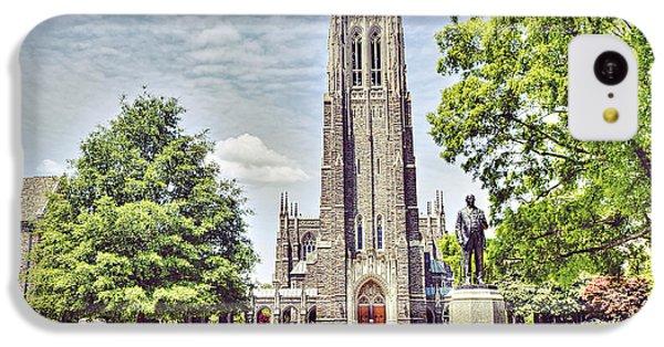 Duke Chapel In Spring IPhone 5c Case