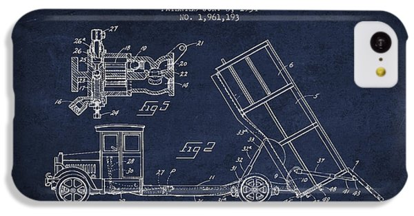 Dump Truck Patent Drawing From 1934 IPhone 5c Case by Aged Pixel