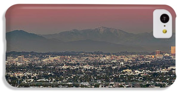 Elevated View Of Buildings In City IPhone 5c Case by Panoramic Images