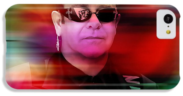 Elton John IPhone 5c Case by Marvin Blaine