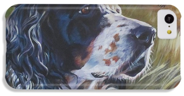 Pheasant iPhone 5c Case - English Setter by Lee Ann Shepard