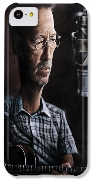 Eric Clapton IPhone 5c Case by Andre Koekemoer