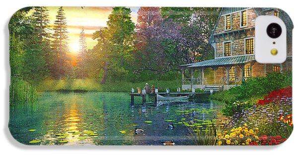 Fishing At Sunset IPhone 5c Case