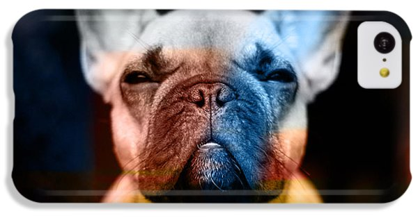 French Bulldog  IPhone 5c Case by Marvin Blaine