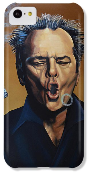 Jack Nicholson Painting IPhone 5c Case