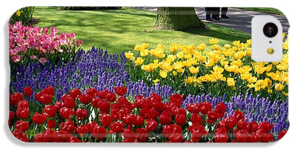 Keukenhof Garden, Lisse, The Netherlands IPhone 5c Case by Panoramic Images