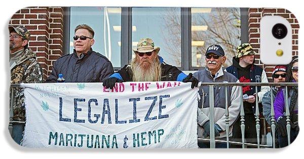 Legalisation Of Marijuana Rally IPhone 5c Case