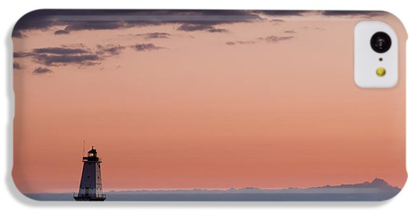 Ludington North Breakwater Lighthouse IPhone 5c Case by Sebastian Musial