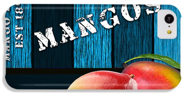 Mango Farm Sign IPhone 5c Case by Marvin Blaine