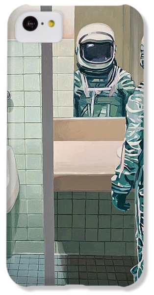 Men's Room IPhone 5c Case by Scott Listfield