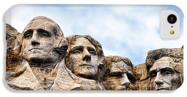 Mount Rushmore Monument IPhone 5c Case by Olivier Le Queinec