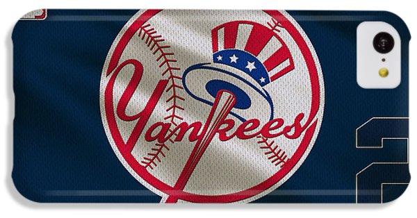 New York Yankees Derek Jeter IPhone 5c Case by Joe Hamilton