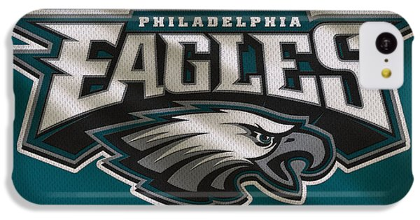 Philadelphia Eagles Uniform IPhone 5c Case by Joe Hamilton