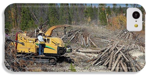 Removing Dead Trees IPhone 5c Case