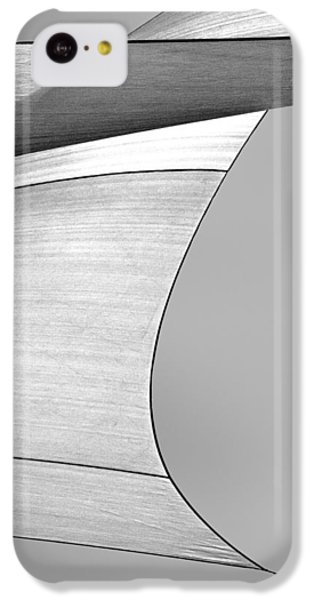 Abstract iPhone 5c Case - Sailcloth Abstract Number 4 by Bob Orsillo