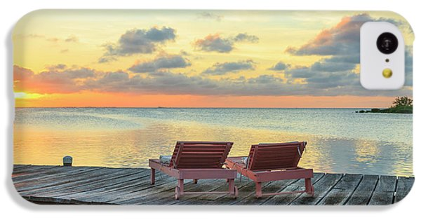 Belize iPhone 5c Case - Saint Georges Caye Resort, Belize (pr by Stuart Westmorland