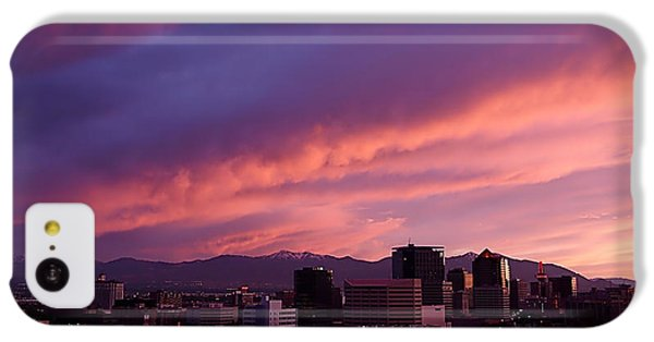 Salt Lake City Sunset IPhone 5c Case